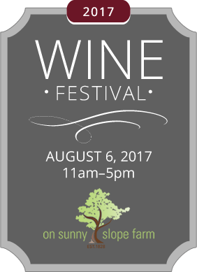 Upcoming wine festival – Wine Festival on Sunny Slope Farm